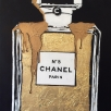 Gold Leaf Chanel No.5
