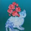 Cat (Flower Vase)